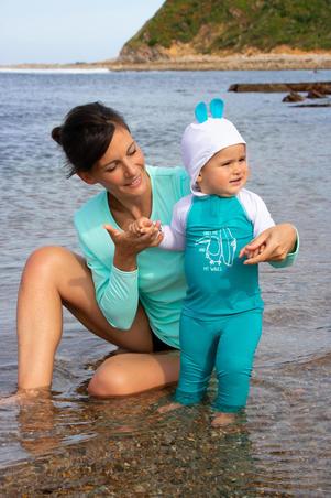 Legging Anti UV Bayi Surf 100 - Turquoise