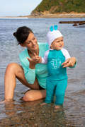 BABY SWIMSUITS & ACCESS. Snorkeling - UVLEG100 BB Leggings OLAIAN - Accessories
