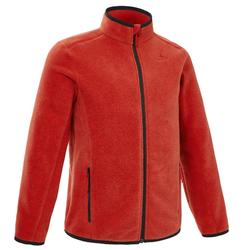 Kids' 7-15 Years CN Hiking Fleece Jacket MH150 - Red