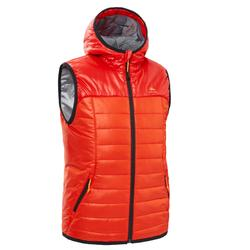 Kids' CN Hiking Gilet MH500 7-15 Years - Red