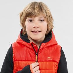 7至15歲兒童款健行背心MH500-紅色