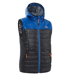Kids' Quilted Hiking Gilet - MH500 Aged 7-15 - Black