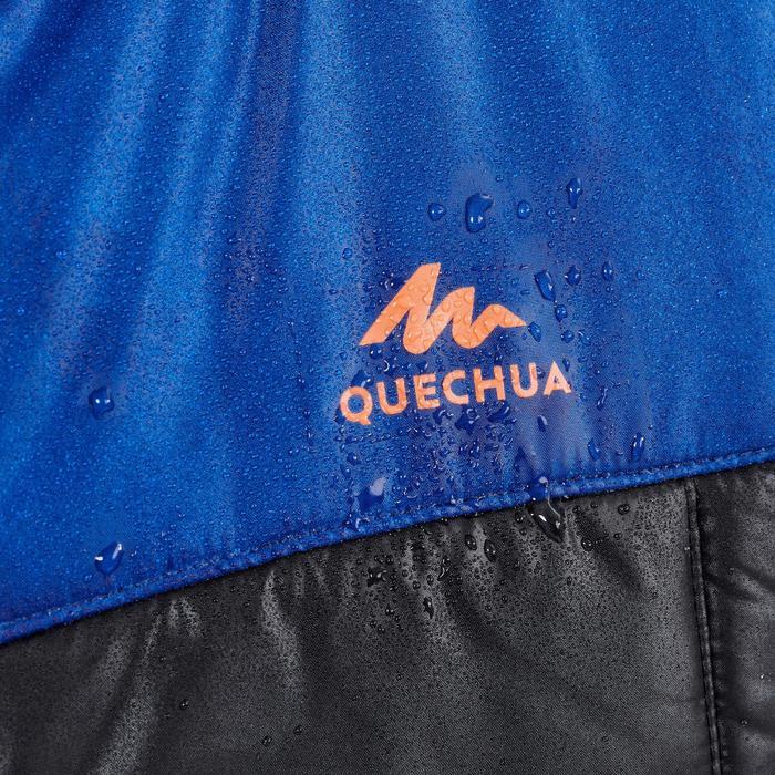 Bodywarmer voor wandelen kinderen MH100 blauw 7 tot 15 jaar