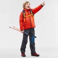 Gewatteerde wandeljas voor kinderen MH500 rood 7-15 jaar