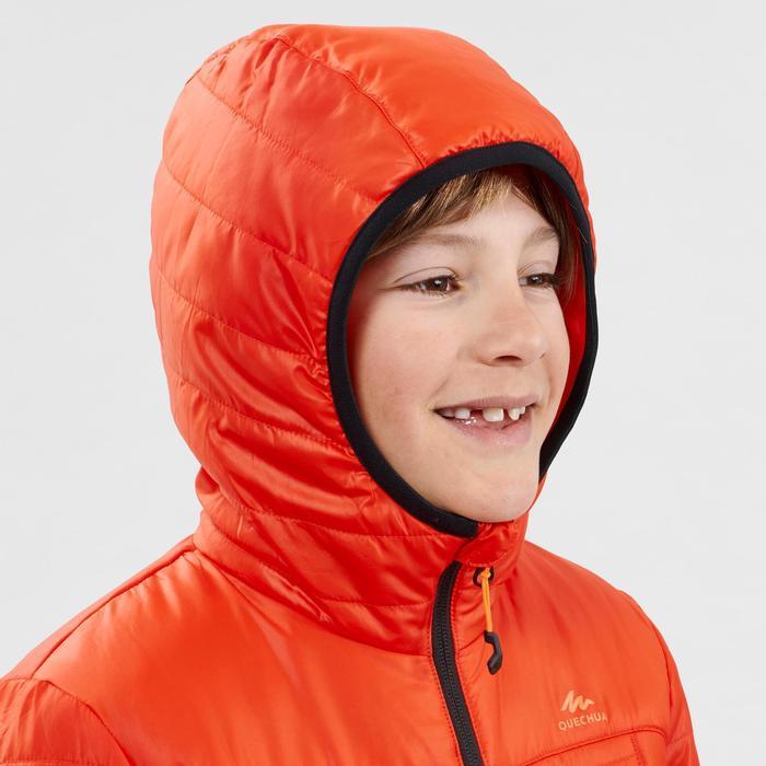 Doudoune de randonnée enfant MH500 rouge 7- 15 ans