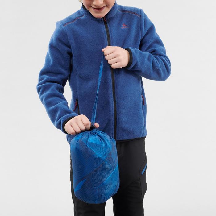Gewatteerde wandeljas voor kinderen MH500 blauw