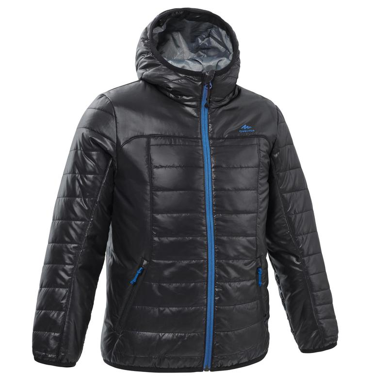 KIDS' PADDED HIKING JACKET - MH 500 Aged 7-15