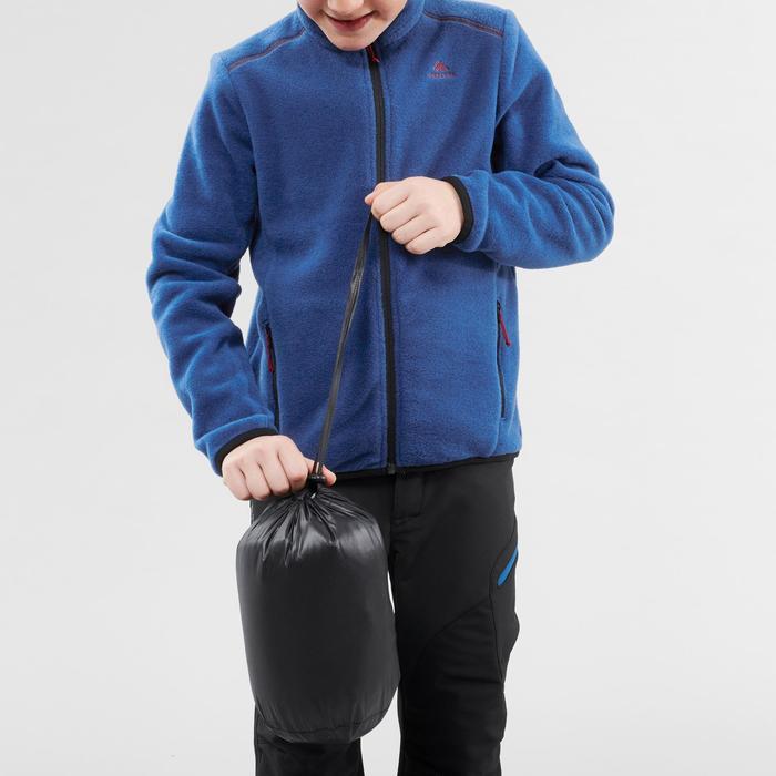Gewatteerde wandeljas voor kinderen MH500 zwart 7-15 jaar