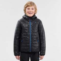 Doudoune de randonnée enfant MH500 noir 7- 15 ans