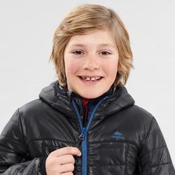 DOUDOUNE DE RANDONNEE - MH 500 NOIR - ENFANT 7-15 ans