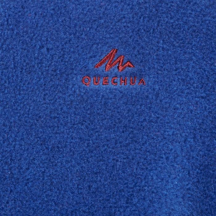 7到15歲兒童款健行刷毛外套MH150-藍色