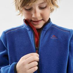 Kids' 7-15 Years CN Hiking Fleece MH150 - Blue