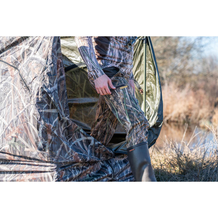 Lichte jagersbroek 500 moerascamouflage