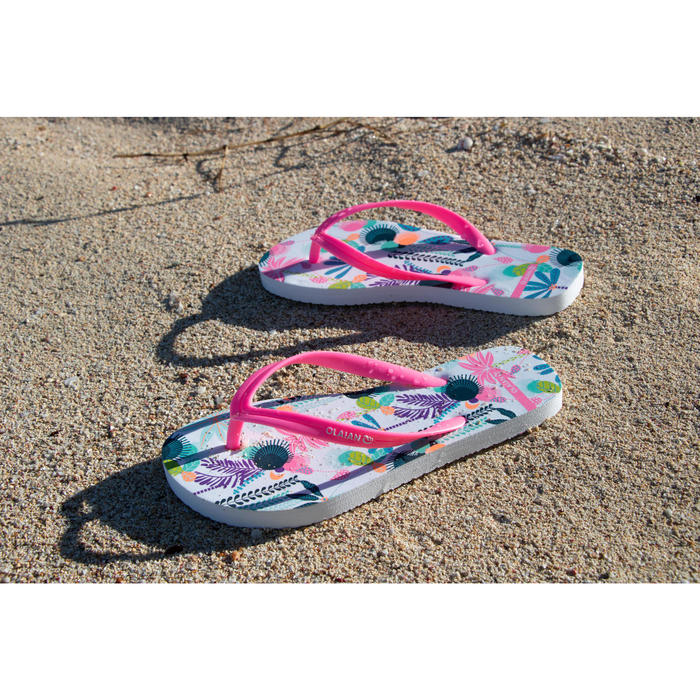 Chanclas De Playa Surf Olaian TO 120 Niña Multicolor