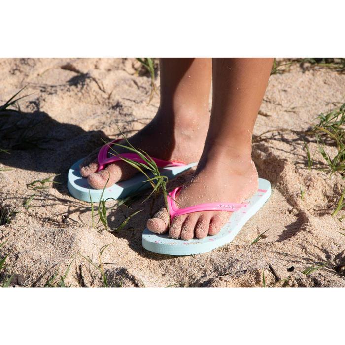 fff0f54d5 Chanclas De Playa Surf Olaian TO 120 Niña Piñas Olaian