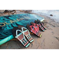 女款夾腳拖鞋TO120 KS-幾何款/綠色