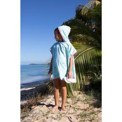 Surfponcho voor kinderen van 110 tot 125 cm Ice
