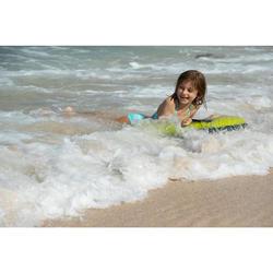 Bikini-Set Bustier Boni Palmy Surfen Mädchen hellblau