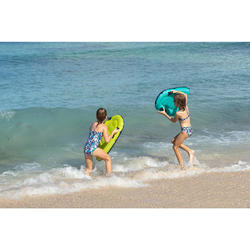 Meisjesbikini voor surfen topje zonder sluiting Boni Jun paars