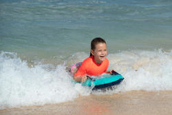tee-shirt anti-UV surf haut 100 manches courtes enfant rose