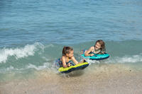 בגד ים שני חלקים עם גוזיה לנערות לגלישה בדגם Boni - סגול