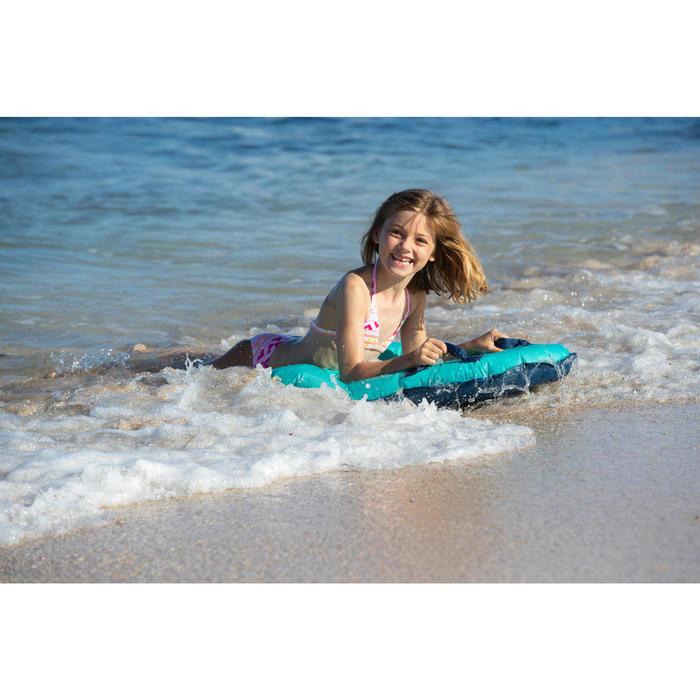 Meisjesbikini met triangeltop voor surfen Tina Vaiana multicolor