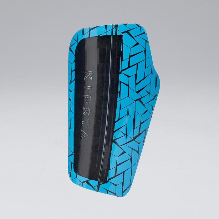 Protège-tibias de football adulte 540 TRAXIUM bleu
