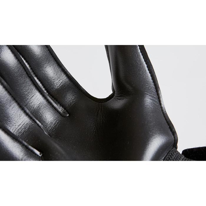 Gant de gardien de football enfant F100 RESIST noir jaune