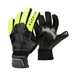 Keepershandschoenen kind F100 Resist zwart/geel