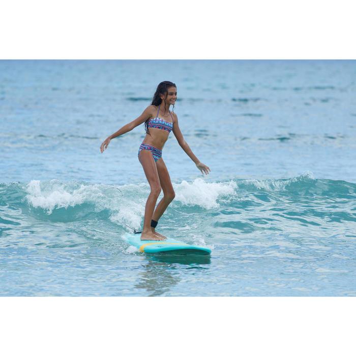 Bikini-Set Bandeau Liloo Samoa Mädchen türkis
