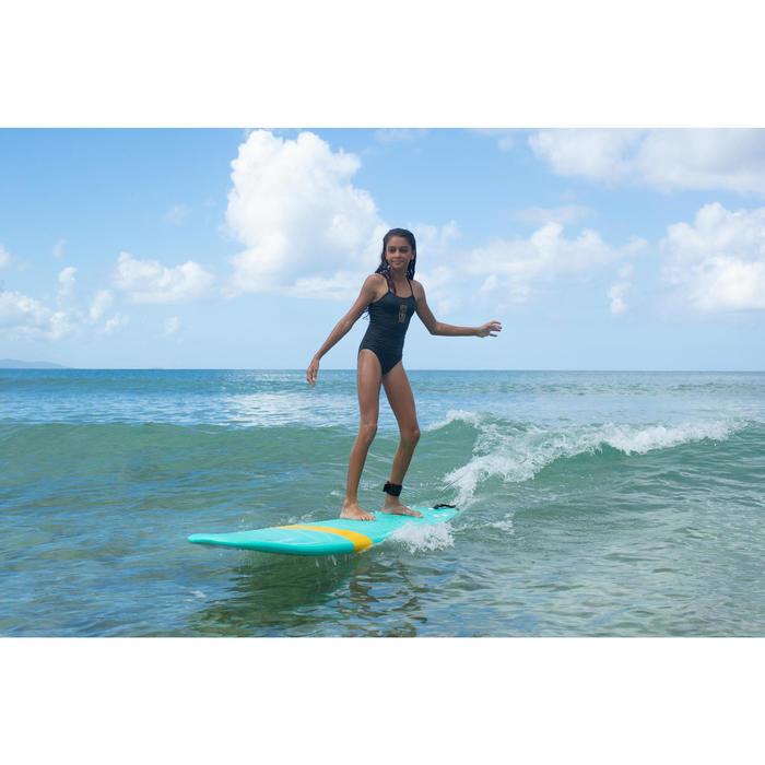 Badeanzug Hanalei Wave It Easy Surfen Mädchen schwarz