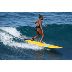 Maillot de bain de surf 1 pièce HIMAE MAHINA NERO
