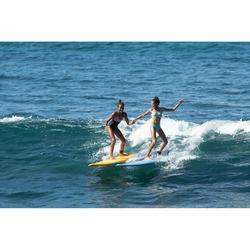 Meisjesbikini met pads voor surfen Betty Flow