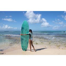 Bikini Completo Surf Olaian BETTY FIDJI Niña Verde