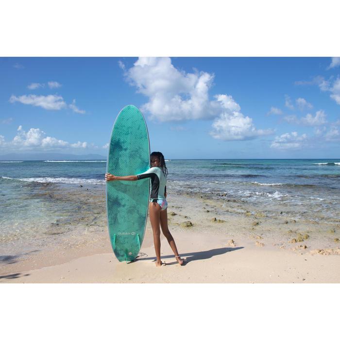 Meisjesbikini met pad voor surfen Betty Fidji