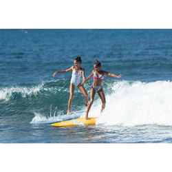 Halterbikini met uitneembare pads voor tienermeisjes Tami Tonga