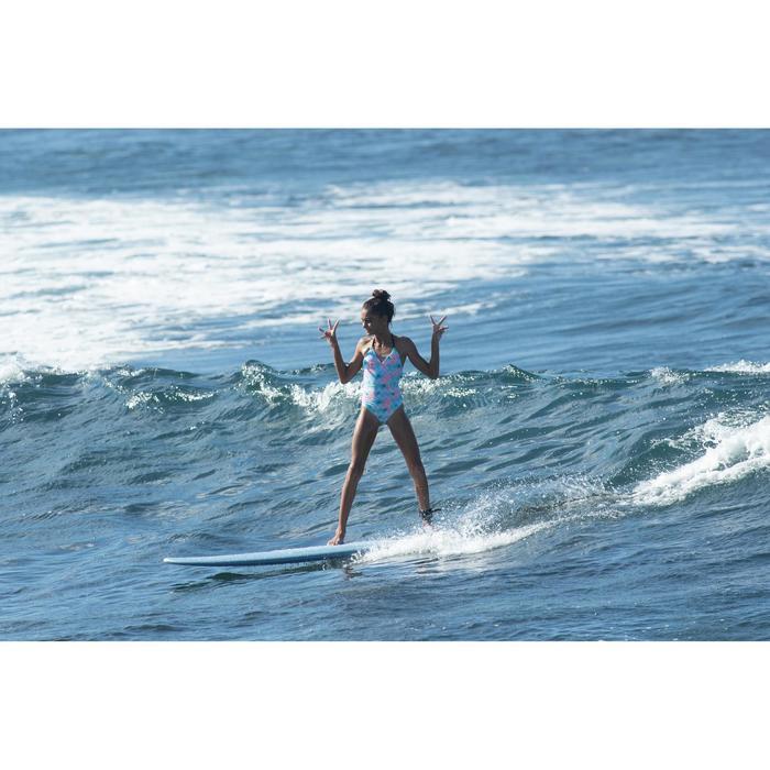 MAILLOT DE BAIN SURF FILLE VERT HIMAE 500