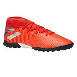 Botas de Fútbol Adidas Nemeziz 3 HG turf niños naranja