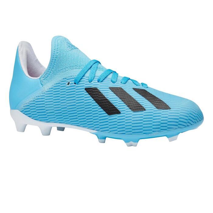 Botas de Fútbol Adidas X 19.3 FG niños azul