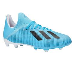 Voetbalschoenen kind X 19.3 FG blauw