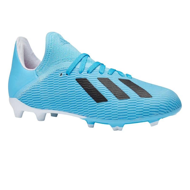 Scarpe JR terreni secchi Sport di squadra - Scarpe calcio jr X 19.3 FG blu ADIDAS - Calcio