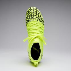 Fußballschuhe Nocken Future 4.3 FG Erwachsene gelb