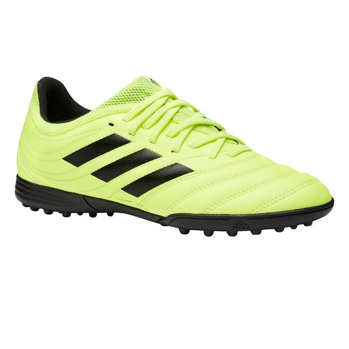 Botas de Fútbol Adidas Copa 19.3 HG turf niños amarillo