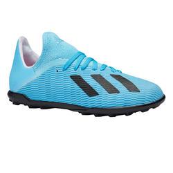 Chaussure de football X 19.3 HG enfant bleue
