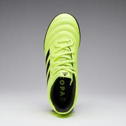 Chaussure de football Copa 19.3 HG enfant jaune