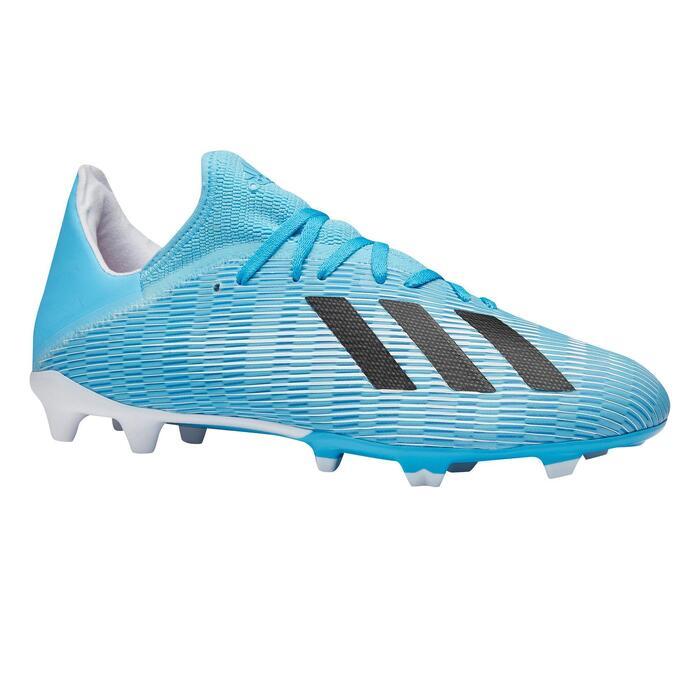 Voetbalschoenen X 19.3 FG blauw