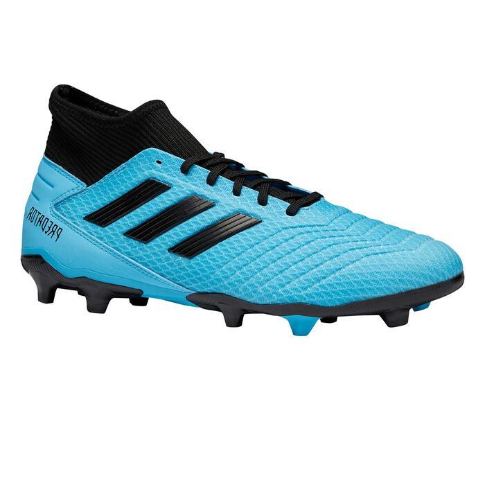 Voetbalschoenen kind Predator 19.3 FG blauw