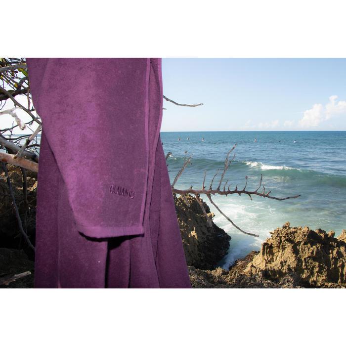 Toalla Playa Surf Olaian Violeta Algodón Grande