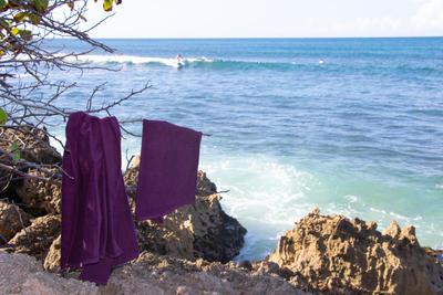 BASIC S TOWEL 90 x 50 cm Purple