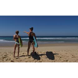 HAUT DE MAILLOT DE BAIN SURF FILLE BRASSIERE VERT BAHA 900
